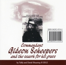 Cmdt Gideon Scheepers and the search for his grave